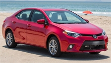 Toyota Corolla Alloy Wheels and Tyre Packages.