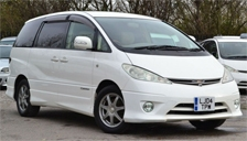 Toyota Estima Alloy Wheels and Tyre Packages.