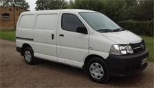 Toyota Hi Ace Alloy Wheels and Tyre Packages.