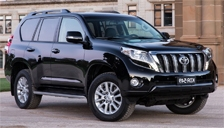 Toyota Land Cruiser 6 Stud Alloy Wheels and Tyre Packages.