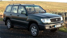 Toyota Land Cruiser Amazon 1998 to 2007 Alloy Wheels and Tyre Packages.