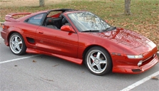 Toyota MR2 1989 to 1999 (Mk2) Alloy Wheels and Tyre Packages.