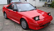 Toyota MR2 1984 to 1989 (Mk1) Alloy Wheels and Tyre Packages.