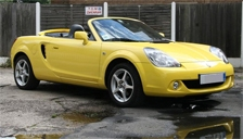 Toyota MR2 1999 to 2007 (Mk3) Roadster Alloy Wheels and Tyre Packages.