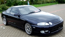 Toyota Soarer Alloy Wheels and Tyre Packages.