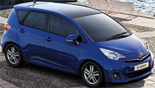 Toyota Verso S Alloy Wheels and Tyre Packages.