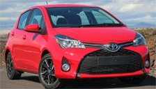 Toyota Yaris Alloy Wheels and Tyre Packages.