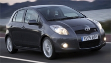 Toyota Yaris TS Alloy Wheels and Tyre Packages.
