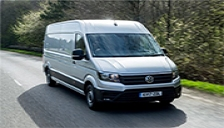Volkswagen Crafter Alloy Wheels and Tyre Packages.