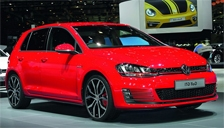 Volkswagen Golf GTi Alloy Wheels and Tyre Packages.
