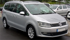 Volkswagen Sharan Alloy Wheels and Tyre Packages.