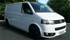 Volkswagen Transporter Alloy Wheels and Tyre Packages.
