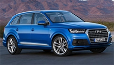 Audi Q7 2015 to 2018 (Mk2) Alloy Wheels and Tyre Packages.