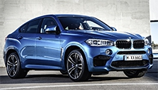 BMW X6M 2015 to 2018 Alloy Wheels and Tyre Packages.