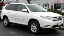 Toyota Highlander Alloy Wheels and Tyre Packages.