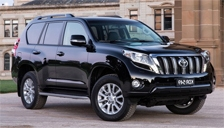Toyota Prado Alloy Wheels and Tyre Packages.