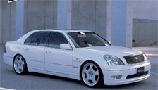 Toyota Celsior Alloy Wheels and Tyre Packages.