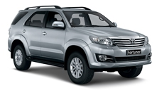 Toyota Fortuner 2005 to 2019 Alloy Wheels and Tyre Packages.