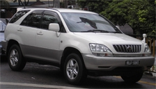 Toyota Harrier Alloy Wheels and Tyre Packages.