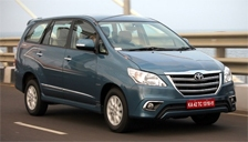 Toyota Innova Alloy Wheels and Tyre Packages.