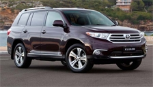 Toyota Kluger Alloy Wheels and Tyre Packages.