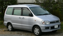 Toyota Liteace Noah 2001 to 2019 Alloy Wheels and Tyre Packages.