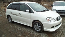 Toyota Nadia Alloy Wheels and Tyre Packages.