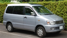 Toyota Noah Alloy Wheels and Tyre Packages.