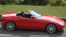 BMW Z1 1989 to 1991 Alloy Wheels and Tyre Packages.