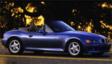 BMW Z3 1993 to 2002 Alloy Wheels and Tyre Packages.