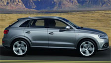 Audi Q3 2011 to 2018 (Typ 8U) Alloy Wheels and Tyre Packages.