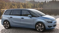 Citroen C4 Grand Picasso 2006 to 2013 (MK1) Alloy Wheels and Tyre Packages.