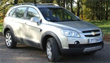 Chevrolet Captiva 2006 to 2011 Alloy Wheels and Tyre Packages.