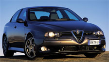 Alfa Romeo 156 1997 to 2007 (Type 932) Alloy Wheels and Tyre Packages.