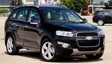 Chevrolet Captiva 2011 to 2018 Alloy Wheels and Tyre Packages.