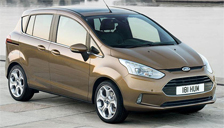 Ford B-Max Alloy Wheels and Tyre Packages.