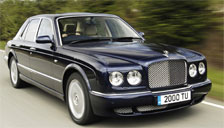 Bentley Arnage 1998 to 2009 Alloy Wheels and Tyre Packages.