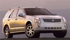 Cadillac SRX 2004 to 2009 (1st Generation) Alloy Wheels and Tyre Packages.