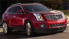 Cadillac SRX 2010 to 2018 (2nd Generation) Alloy Wheels and Tyre Packages.