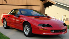Chevrolet Camaro 1993 to 2002 (4th Generation) Alloy Wheels and Tyre Packages.