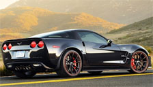 Chevrolet Corvette ZR1 2009 to 2018 Alloy Wheels and Tyre Packages.