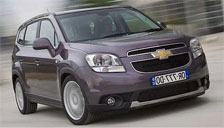 Chevrolet Orlando 2010 to 2018 Alloy Wheels and Tyre Packages.