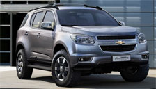 Chevrolet Trailblazer 2001 to 2018 Alloy Wheels and Tyre Packages.