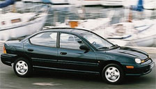 Chrysler Neon 1995 to 1999 (1st Generation) Alloy Wheels and Tyre Packages.