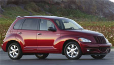 Chrysler PT Cruiser 2000 to 2010 Alloy Wheels and Tyre Packages.