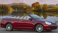 Chrysler Sebring Convertible 2007 to 2010 (3rd Generation) Alloy Wheels and Tyre Packages.