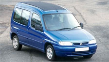 Citroen Berlingo 1996 to 2008 (1st Generation) Alloy Wheels and Tyre Packages.