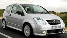 Citroen C2 2003 to 2009 Alloy Wheels and Tyre Packages.