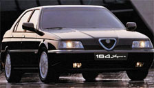Alfa Romeo 164 1993 to 1998 (Type 164) Alloy Wheels and Tyre Packages.