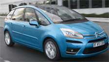 Citroen C4 Picasso 2006 to 2013 (Mk1) Alloy Wheels and Tyre Packages.